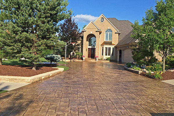 how to seal stamped concrete patio after