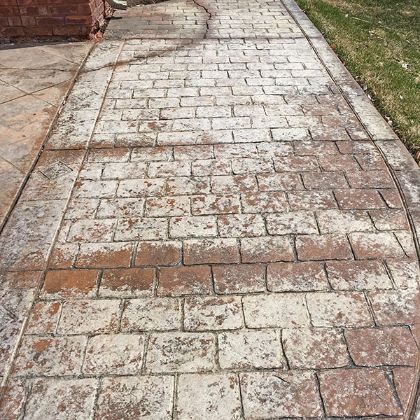 DECCON | Stamped Concrete and Brick Paver Power Wash and Sealing