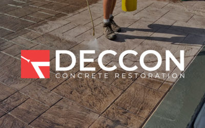 How to Seal Stamped Concrete the Deccon Way
